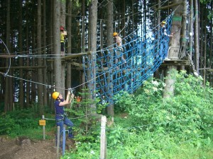 High-ropes-course-
