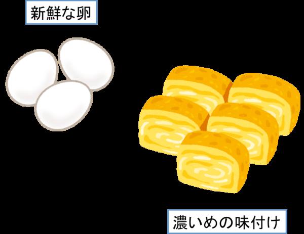 お弁当を前日に作る場合のコツ 卵焼き