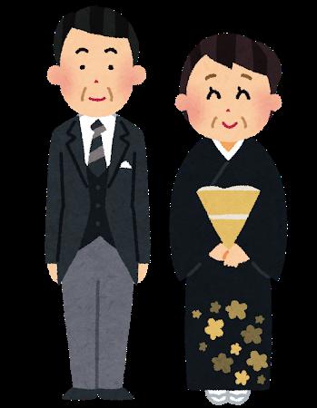結婚式の席札メッセージ 両親への例文