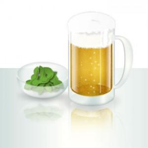 美味しく茹でた枝豆にビールはお手軽で最強!
