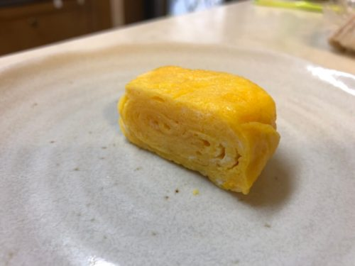 冷凍卵焼きを解凍して実際に食べてみた!