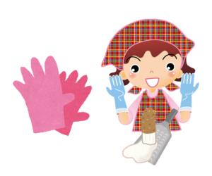 山芋 かゆみ 対策 ゴム手袋