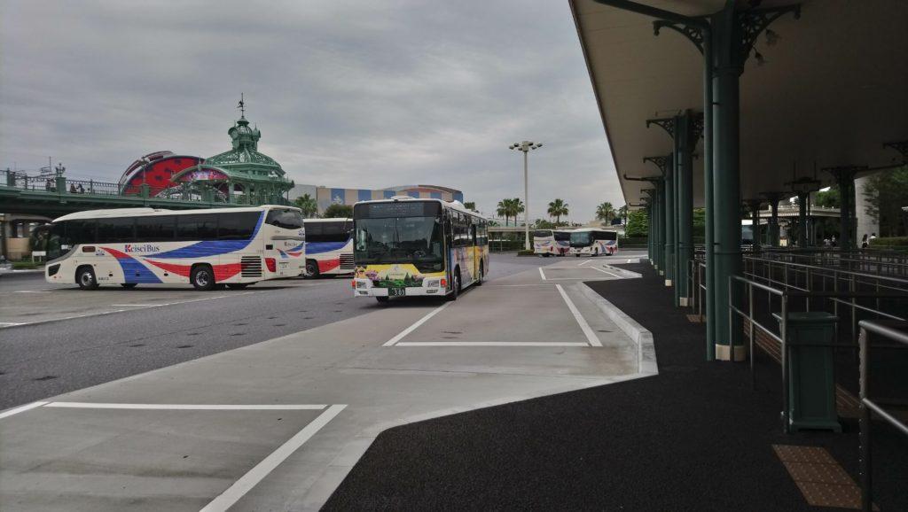 ディズニーランドシャトルバス乗り場