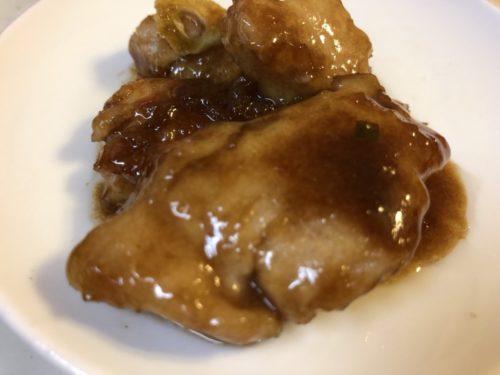 バルサミコ酢代用品 赤ワイン+黒酢+砂糖 鶏肉のバルサミコソース