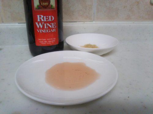バルサミコ酢の代用 赤ワインビネガー+砂糖