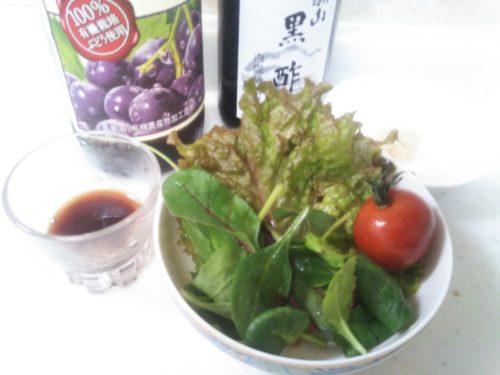 バルサミコ酢の代用品 赤ワイン 黒酢 砂糖