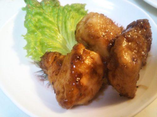 鶏肉のバルサミコソース 本物バルサミコで